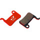 Jagwire Disc Sport Semi-Metallic Brake Pads For XTR / Saint / Deore / XT / SLX / LX / Hone / Alfine / Non grey/red